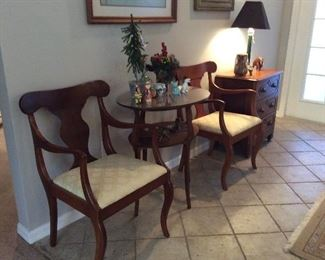 Solid cherry Hand-made arm chairs