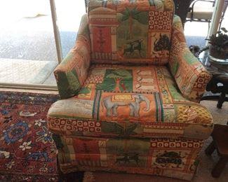Custom upholstered chairs