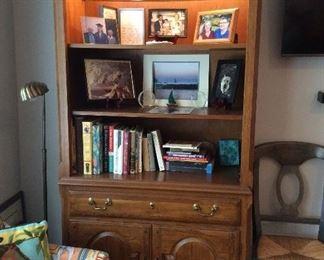 (2) Display cabinets