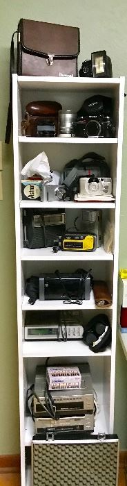 Vintage cameras and electronics