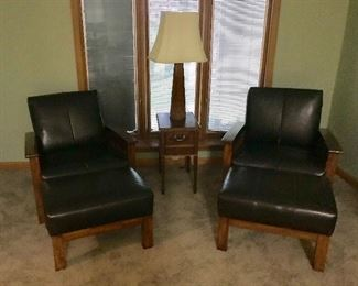 Craftsman style chairs