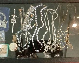 Pearls, 14k and European jewelry