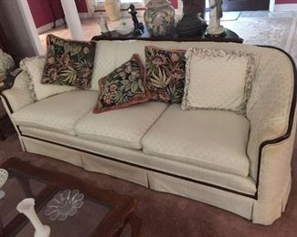 Lovely sofa and pillows
