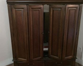 Hooker entertainment cabinet