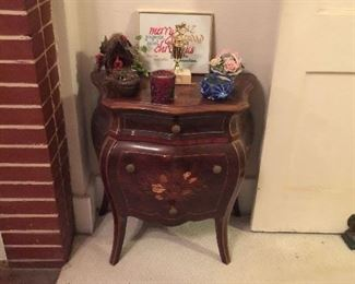 2nd Inlaid Bombay End Table