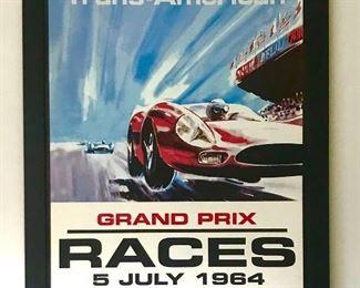Grand Prix 1964 Framed Print