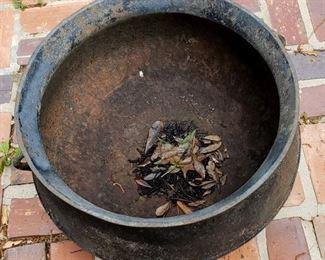 Large Cast iron Cauldron