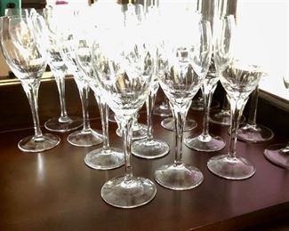 Wine glasses for 12 - enough for a party!