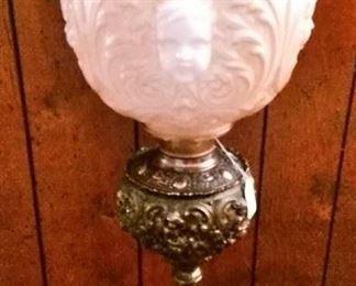 Beautiful Victorian Lamp
