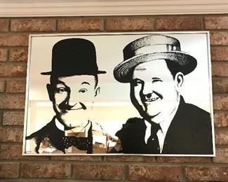 Large Laurel and Hardy Picture