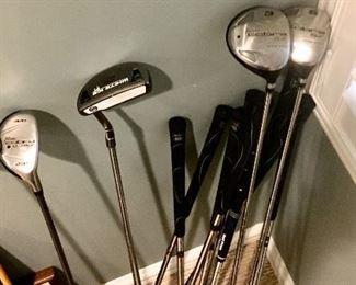 King cobra & Callaway Golf clubs