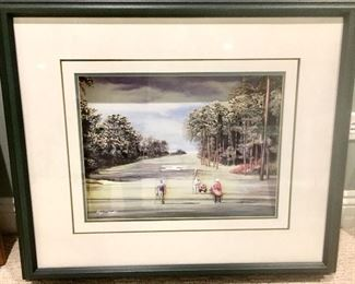Augusta National 3D Framed 10th Hole