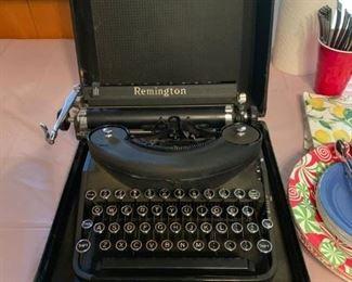 #19Remington Typewritter w/Round Keys $75.00