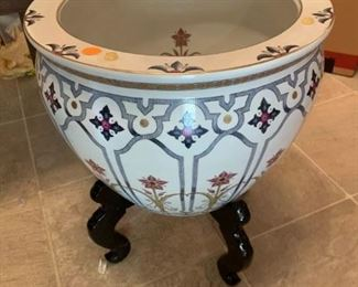 #22Chinese Pot on Stand  $65.00