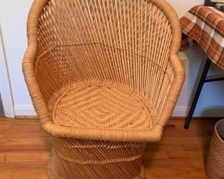 #44Rattan Chair $45.00
