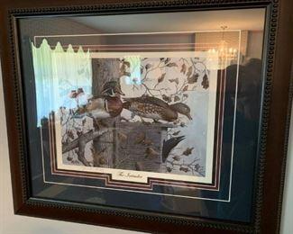 #69John Warr - 1993 - The intruder Duck Print 181/450 $75.00