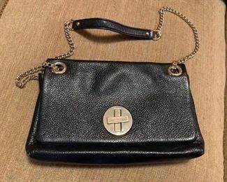 #88Kate Spade black leather purse  $40.00