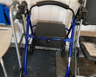 #46drive blue walker  $30.00
