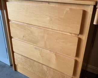 #50nursery craft maple chest of 4 drawers33x21x37 $100.00  #51Nursery craft maple changing table  $45.00