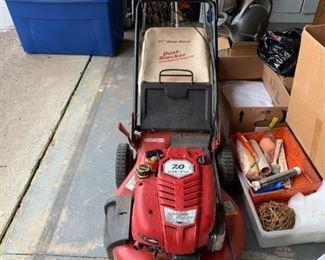 #53craftsman 21 inch push mower 7 horse power  $75.00