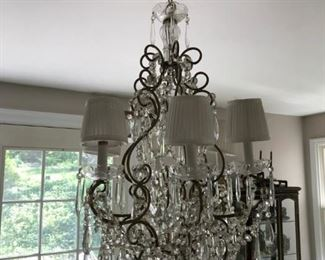 Chandelier will be for sale