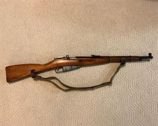 Mosin Nagant M38 7.62 x 54 R Bolt Action Carbine Rifle (#1 of 2)