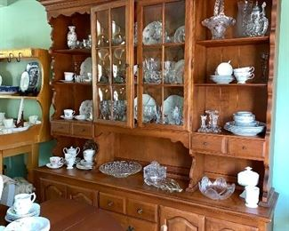 Maple hutch-and all shown here