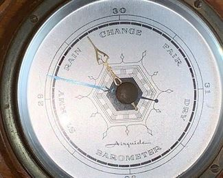 Air gauge barometer