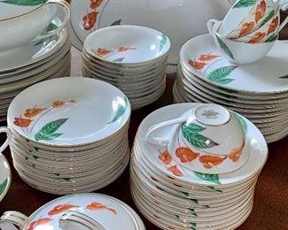 Beautiful 12 place setting of Noritake dishes