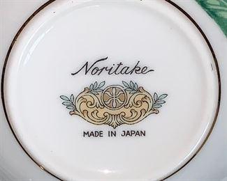 Beautiful Noritake dish set