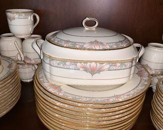 Noritake bone china Barrymore dishes