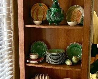 Great tall, thin display cabinet