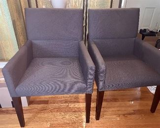 Pair of matching chairs - like new.