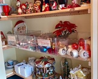 Lots and lots of wonderful Christmas items