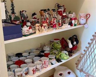 Tons of Coffee and Tea Mugs