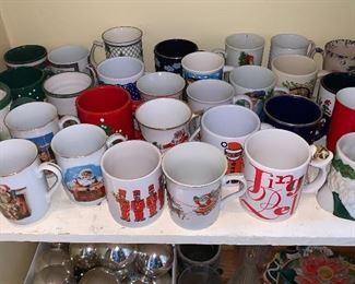 Mugs, mugs and mugs