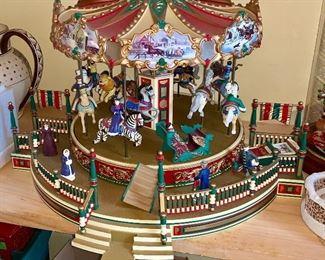 Beautiful, lighted Carousal ( Merry-Go- Round)