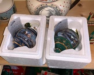 2 Terry Redlin ornaments