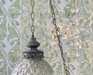 2 of 2 matching vintage hanging lights