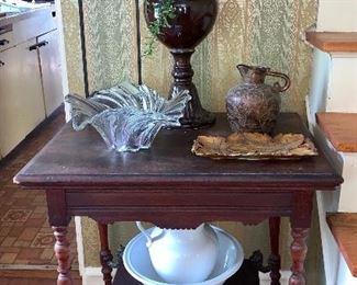 Vintage, ornate table
