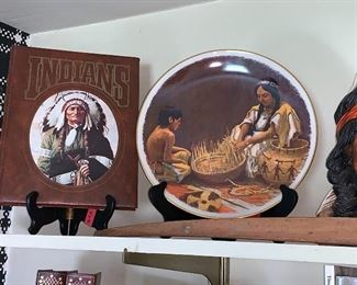 Native American memorabilia