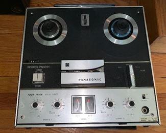 Vintage Panasonic Four Track Stereo Phonic