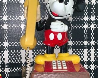 Collectible, Mickey Mouse phone