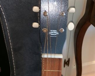 Stella Harmony Acoustic guitar  w/case