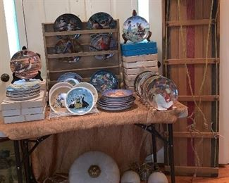 All here-collection of  collector plates