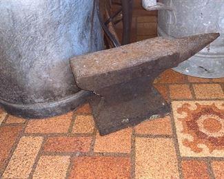 Antique Anvil solid iron