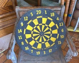 Small Dart Board - made in England