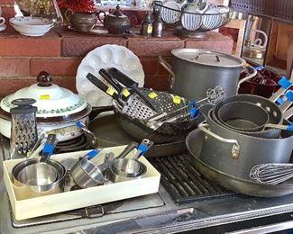 Kitchen items- Pots and Pans, etc.