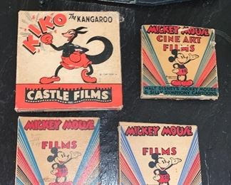 Vintage Mickey Mouse Films and The Kangaroo