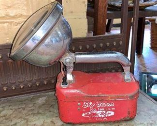 Vintage Big Beam flash light
